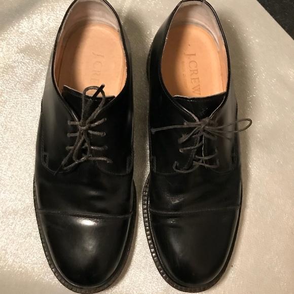 J Crew Shoes Mens J Crew Italian Leather Derby Dress Shoe Poshmark
